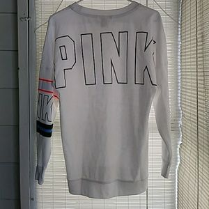 VS PINK campus sweatshirt really cute!
